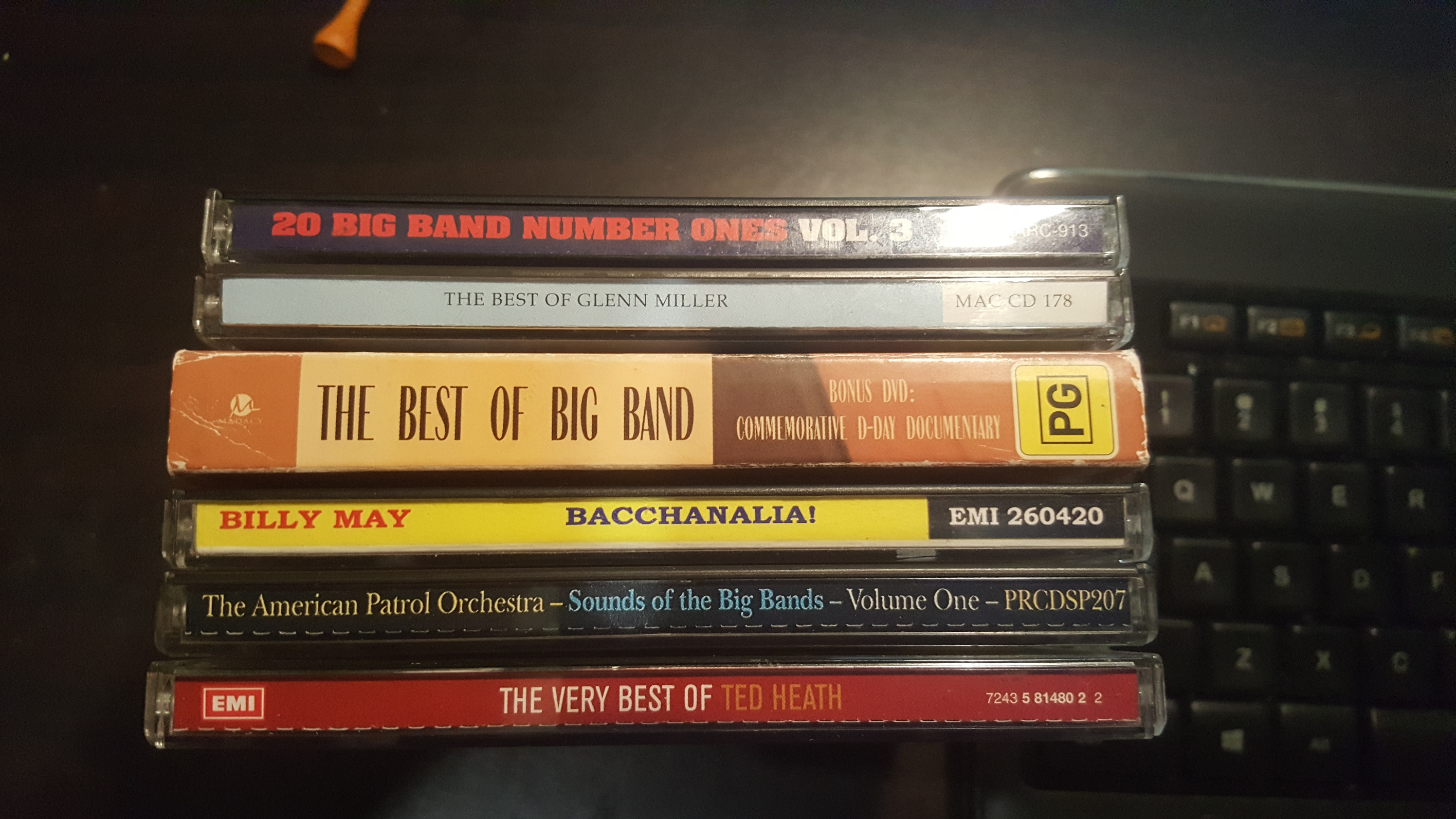 Selling My Collection of Famous Big BAND CDS-127 Tracks In All