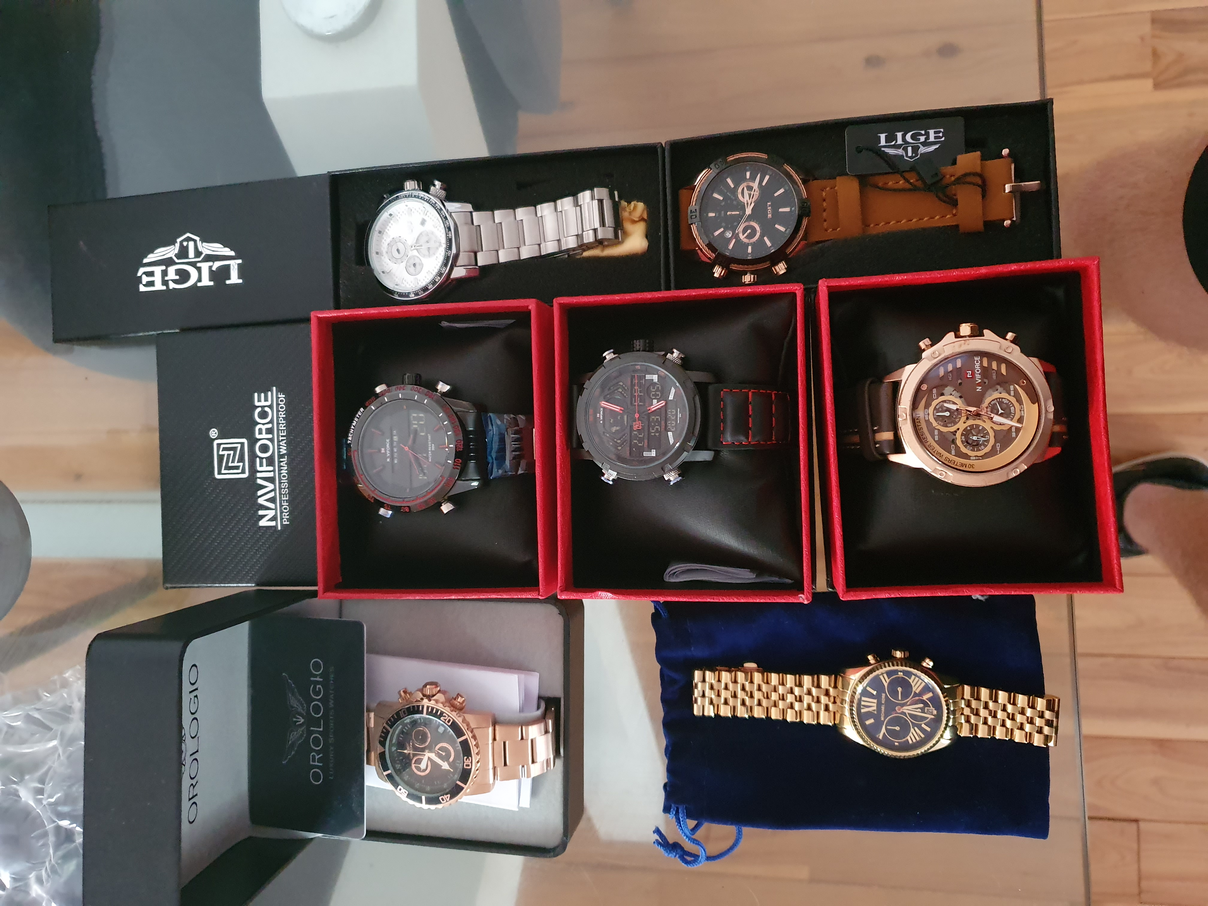 7 Genuine Watchs With Good Brands Worth Nearly 5K Up For Swaps