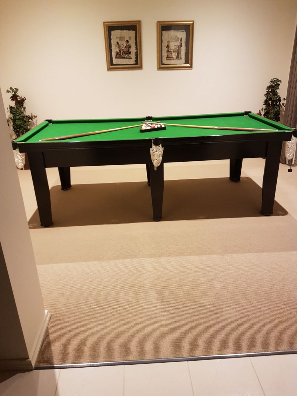 Billiard Table Rarely Used In Perfect Condition