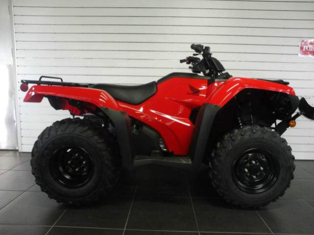 2018 Honda Trx420fm2 ATV Farm TRX Manual