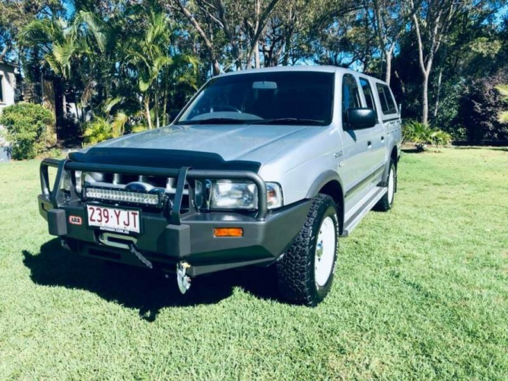 2000 Ford Courier XLT (4X4) PG
