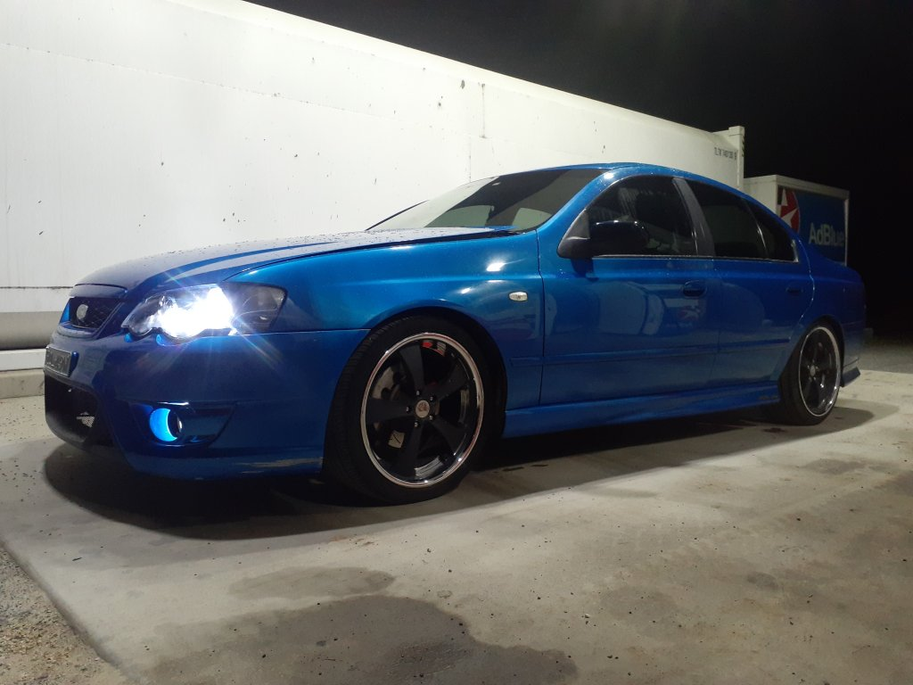 2002 Ford Falcon XR6T BA MKII