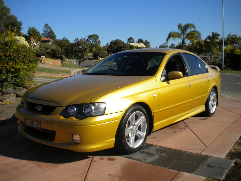 2005 Ford Falcon XR6T BA MKII