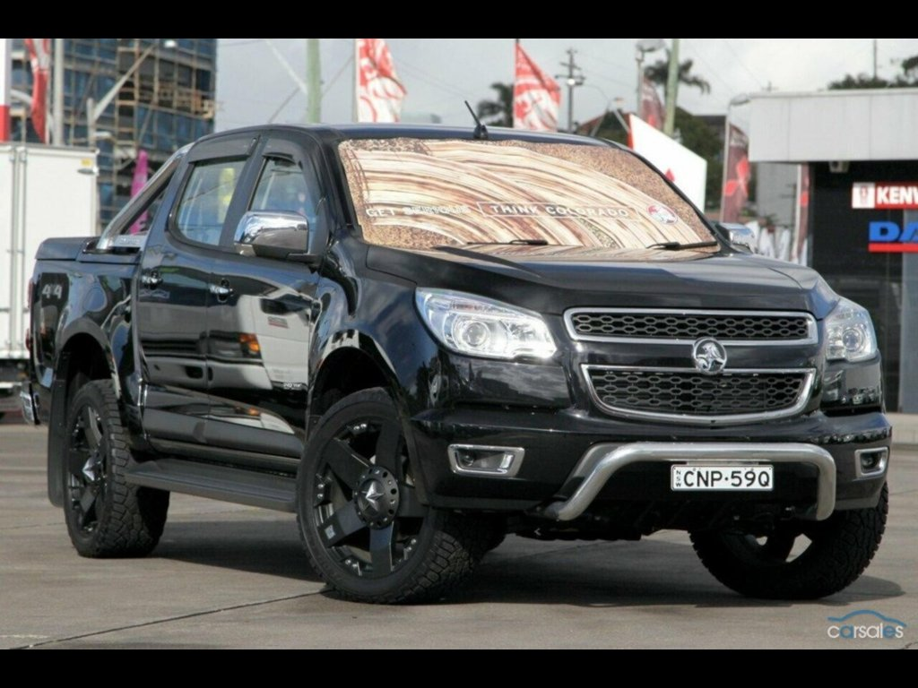 2012 Holden Colorado LTZ (4X4) RG