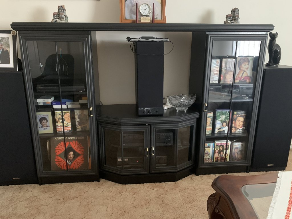 TV UNIT - 2 Doors - 2 Shelves