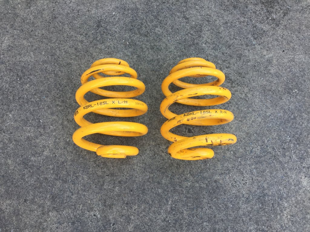 1998 - 2005 BMW E46 Rear KING Springs!