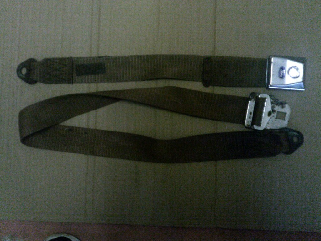 Ford Genuine Center LAP SET Belts Xrxtxwxy