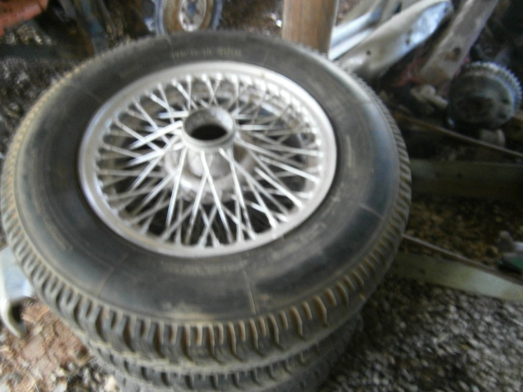MG Wire Wheels & HUBS