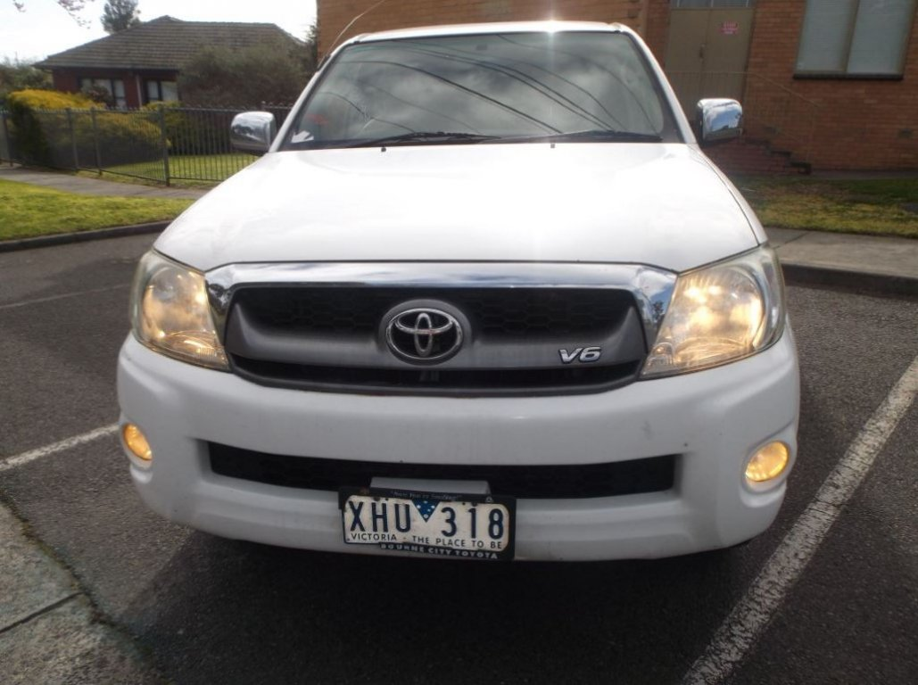 2009 Toyota Hilux GGN25R 08 Upgrade SR5 4X4 GGN25R 08 Upgrade