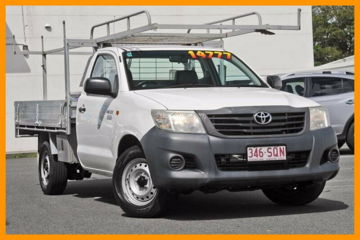 2012 Toyota Hilux Workmate TGN16R MY12
