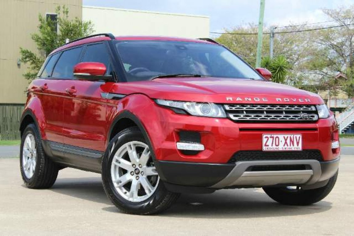 2013 LAND Rover Range Rover Evoque SD4 Commandshift PUR L538 My13.5