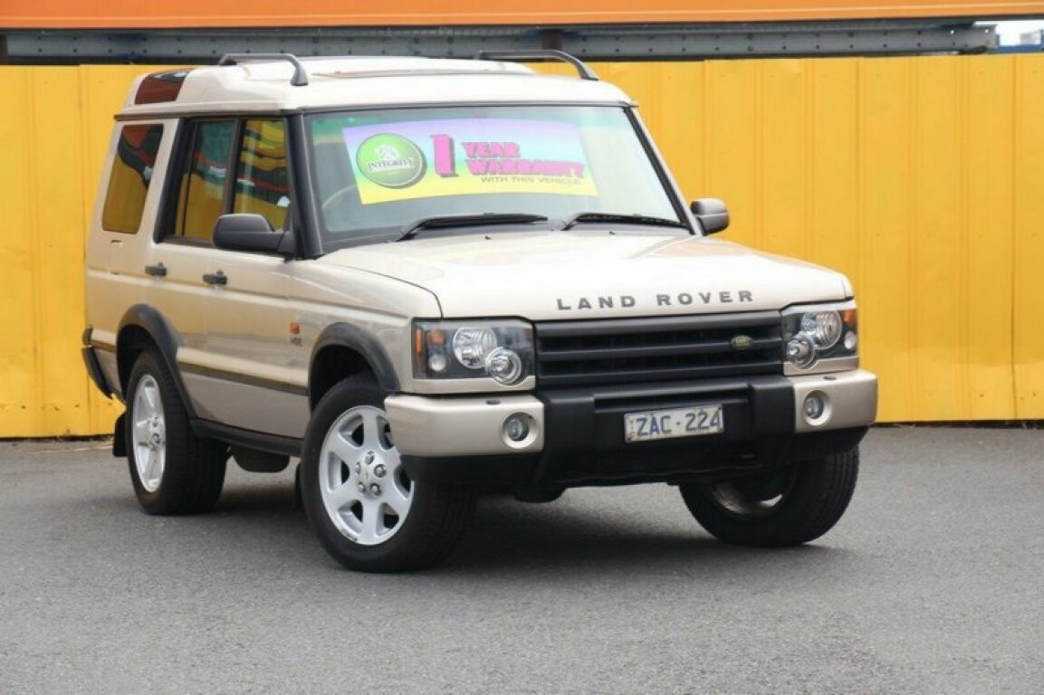 2004 LAND Rover Discovery HSE TD5 03MY