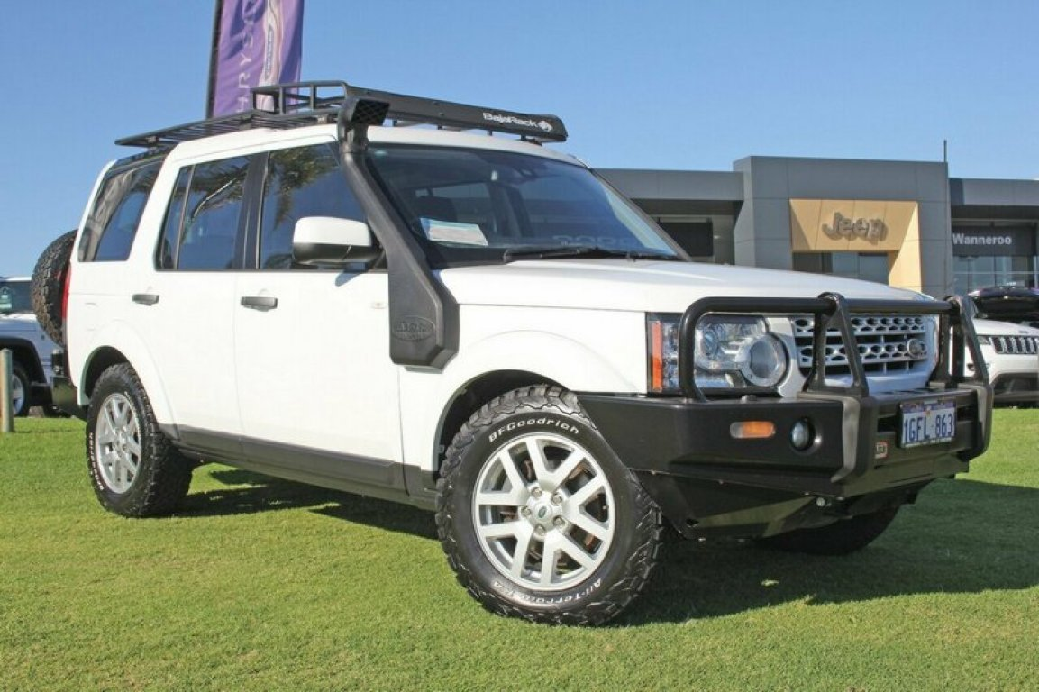 2012 LAND Rover Discovery 4 TDV6 Commandshift Series 4 MY12