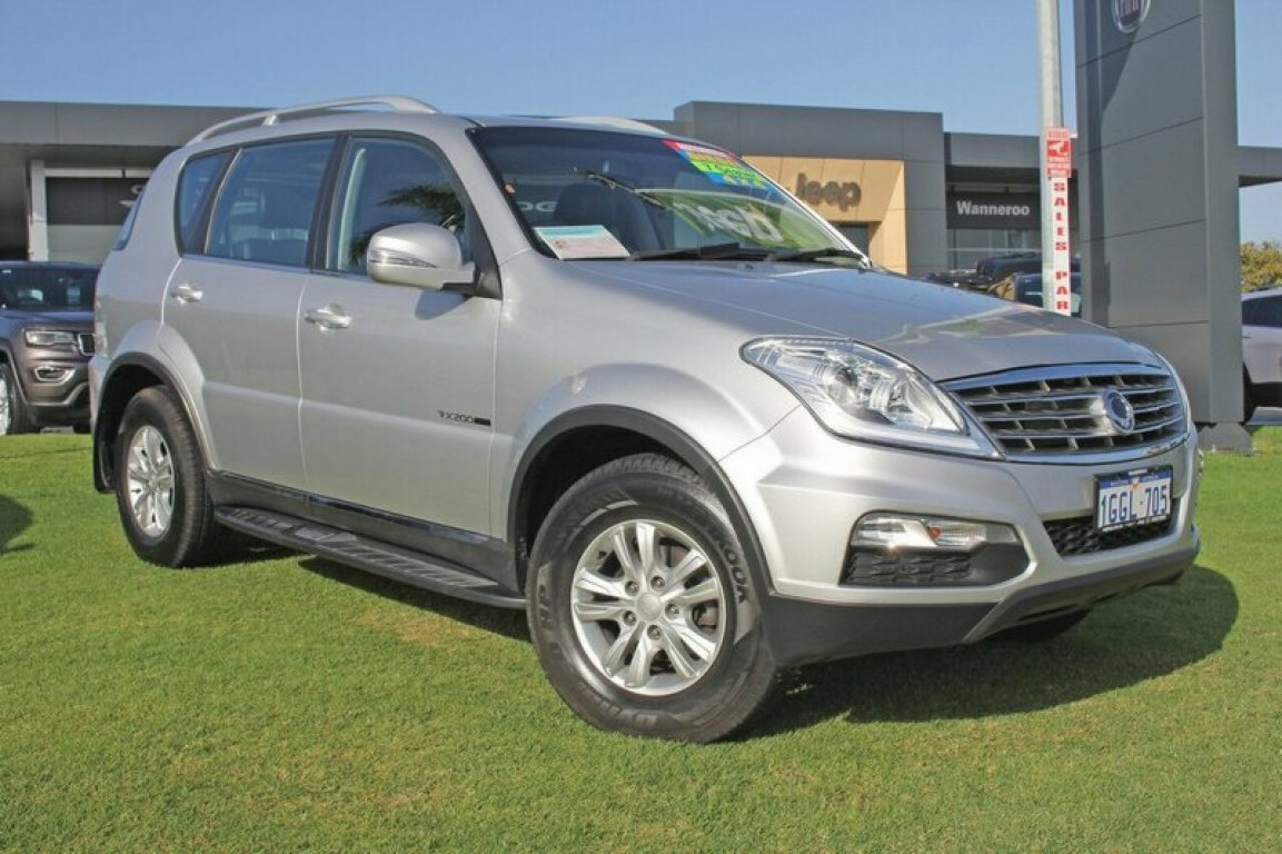 2015 Ssangyong Rexton SX Y285 II MY14