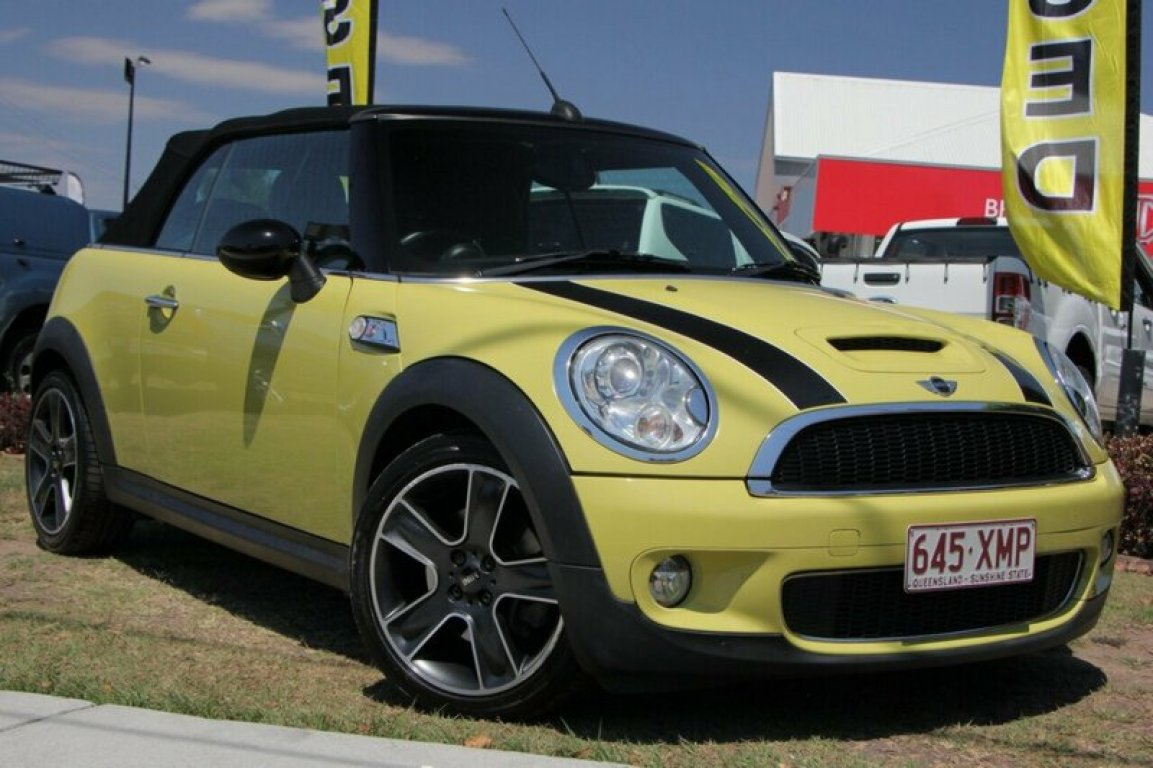 2008 Mini Cabrio Cooper S Chilli R52 MY05