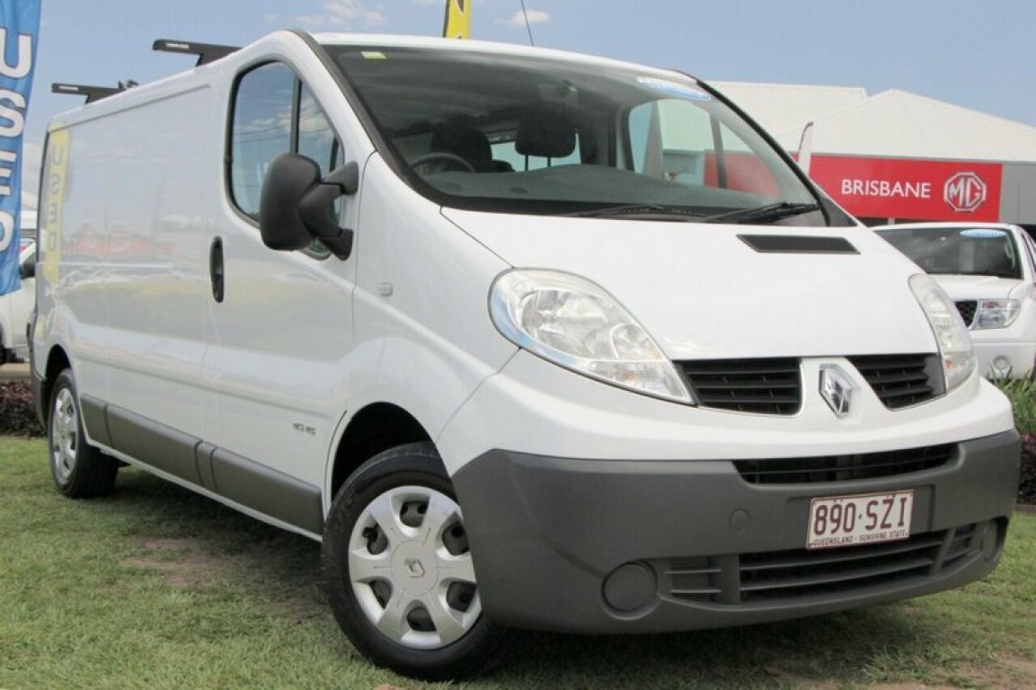 2013 Renault Trafic Low ROOF LWB Quickshift X83 Phase 3