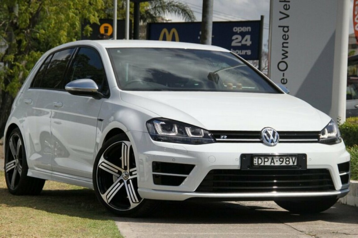 2017 Volkswagen Golf R 4motion VII MY17