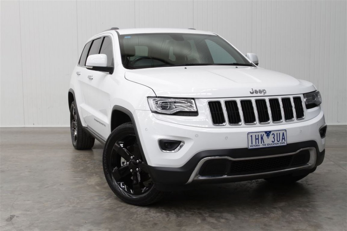 2016 Jeep Grand Cherokee WK MY15 Limited 4X4 WK MY15