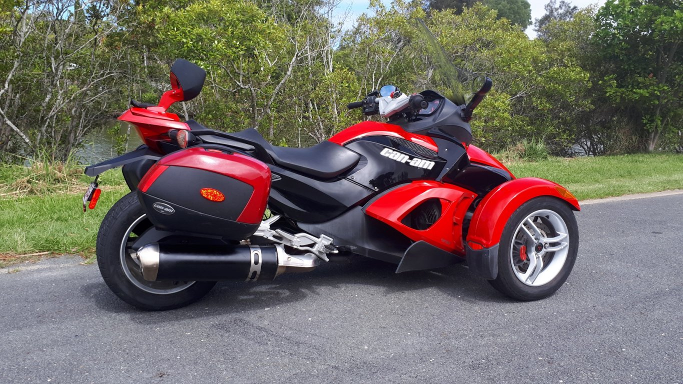 2010 Can-am Spyder Roadster RS SE5