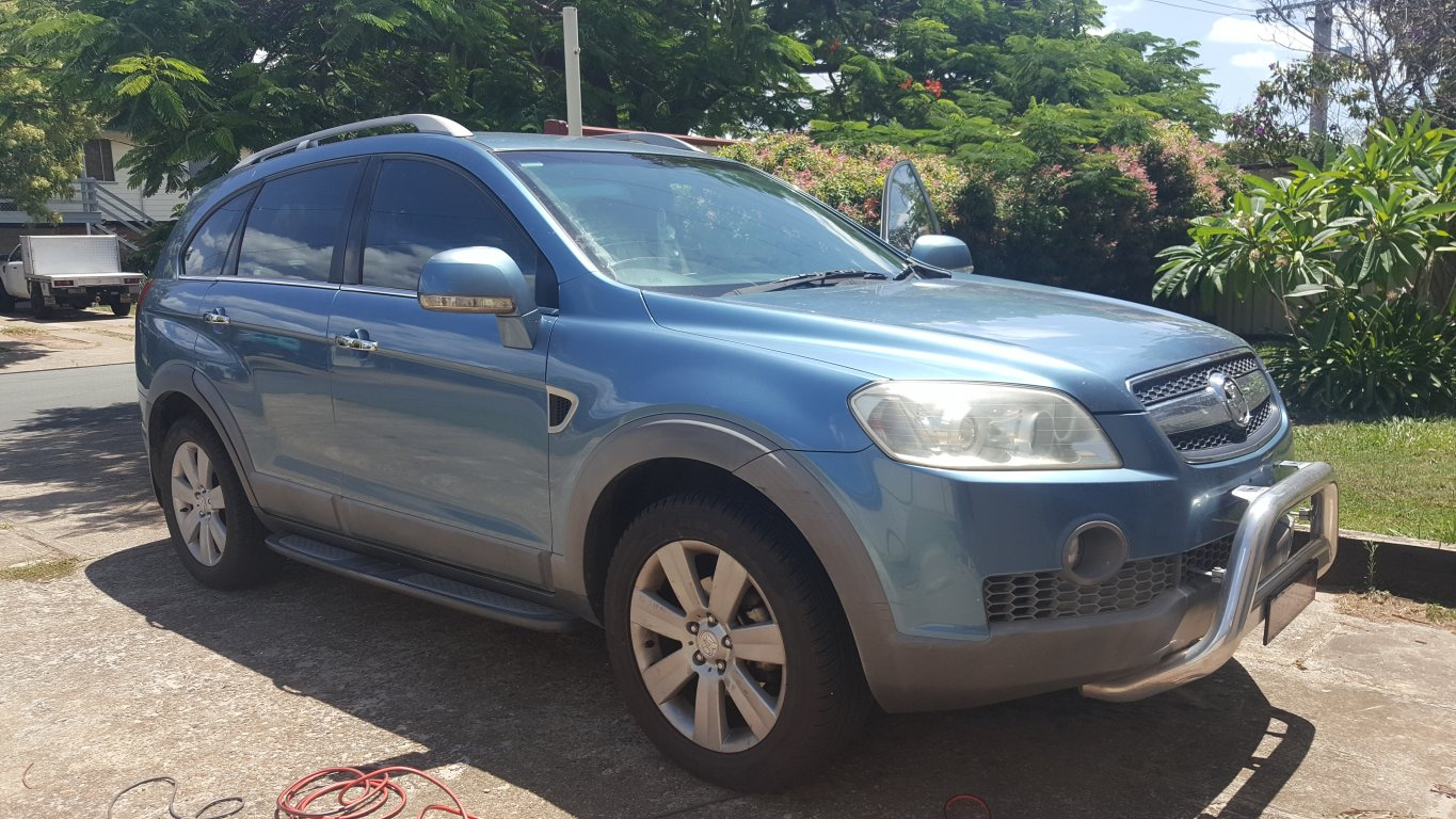 2007 Holden Captiva