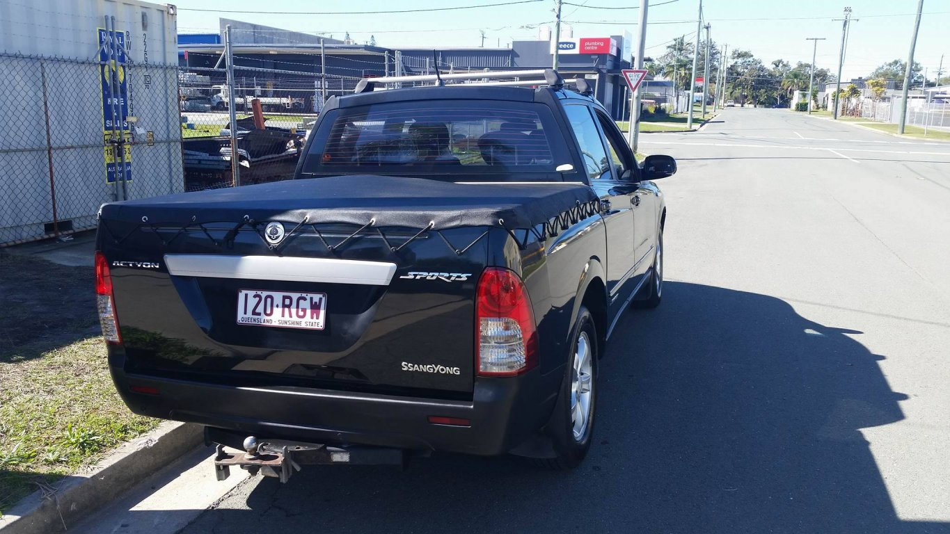 2007 Ssangyong Actyon Sports