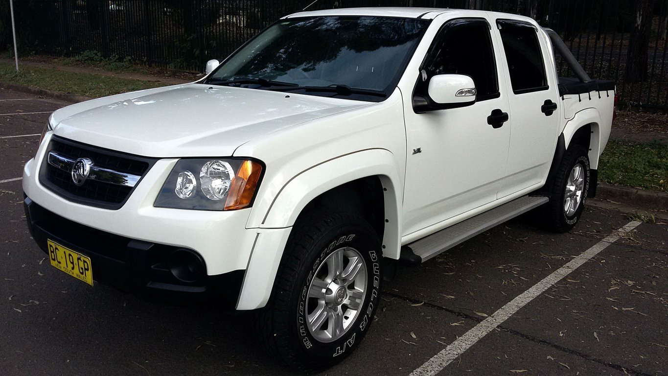 2008 Holden Colorado LX (4X2) RC