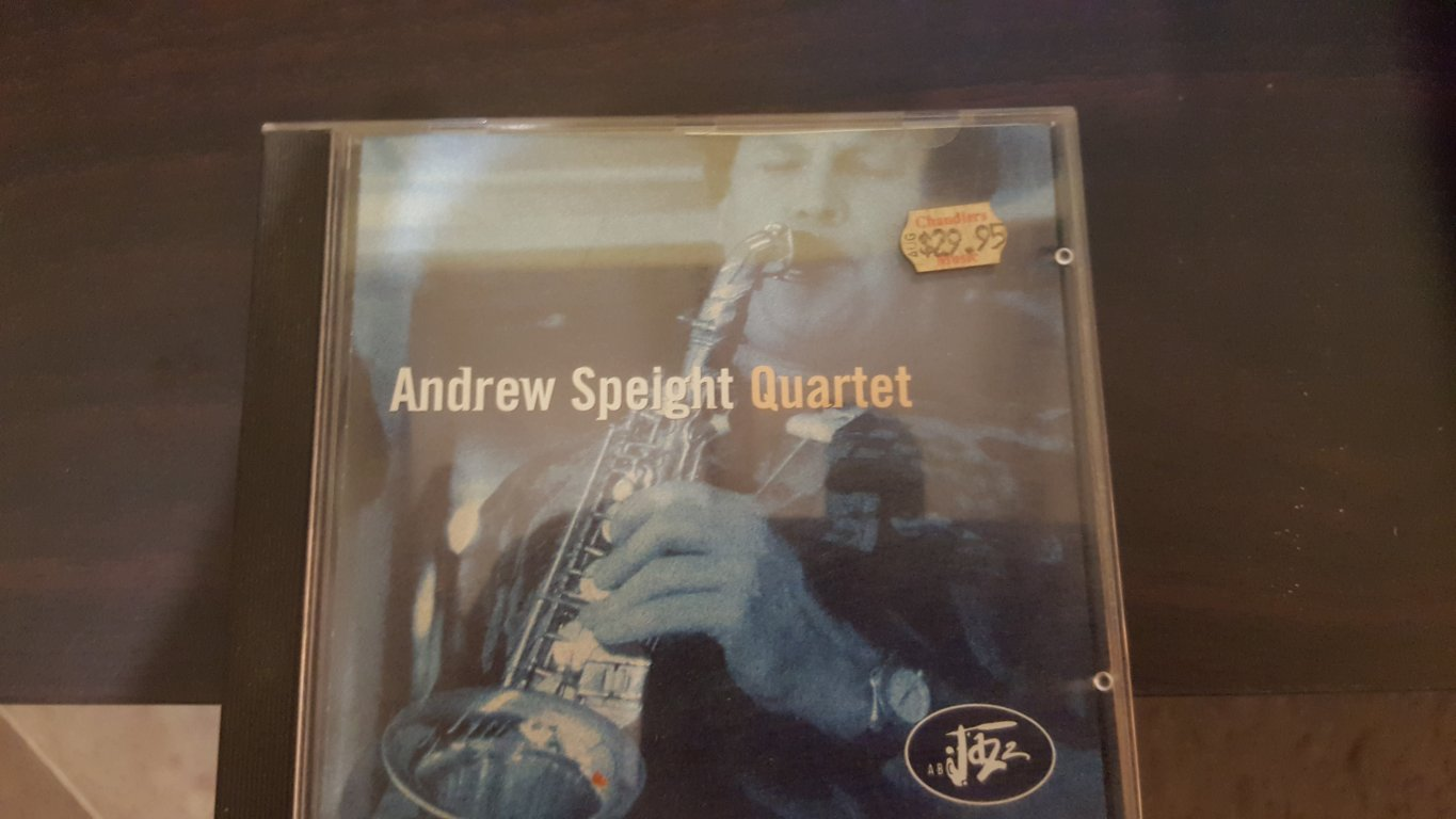 Andrew Speight Quartet CD 1998_excellent