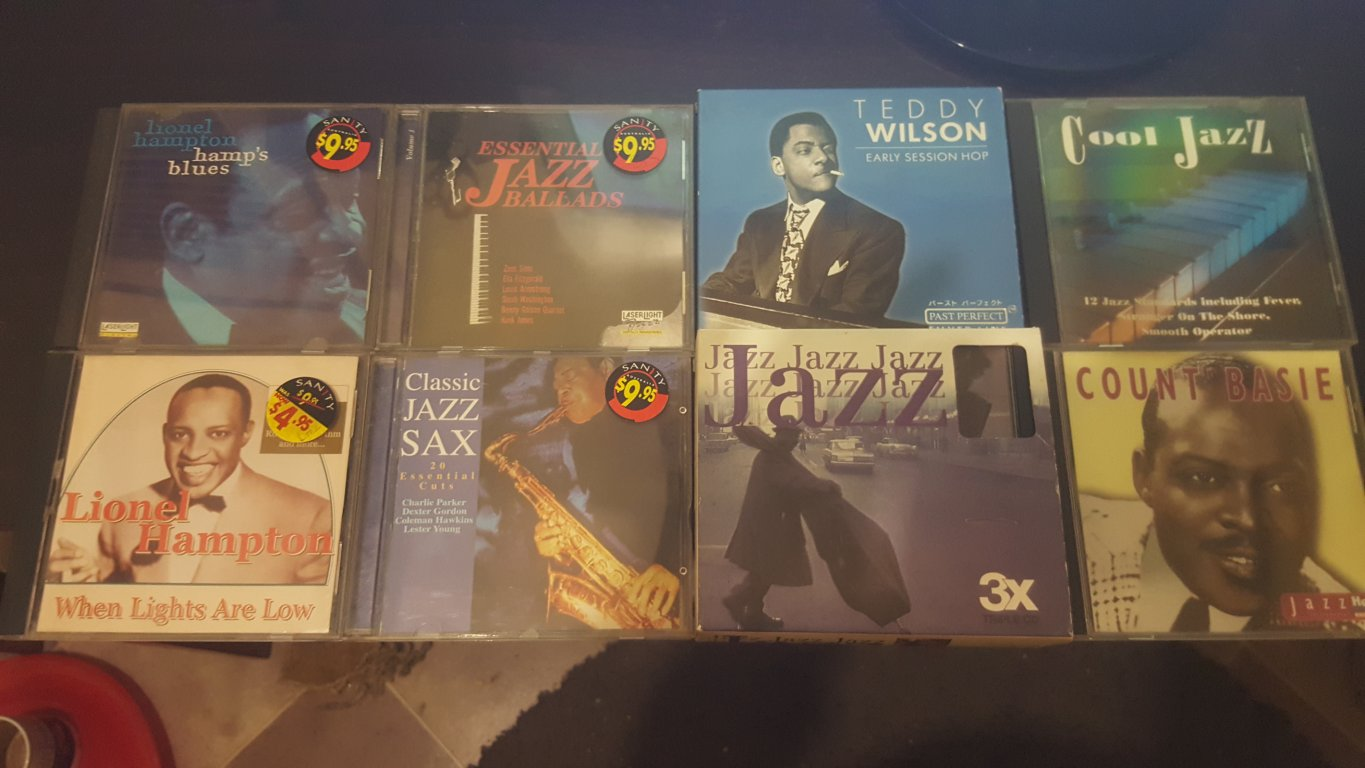 Selling My Collection of Famous JAZZ CDS-211 Tracks In All