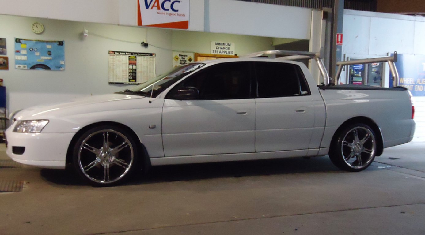 2006 Holden Crewman S VZ MY06 Upgrade