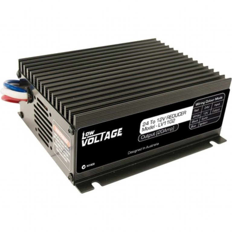 Low Voltage 24V To 12V 20A Voltage Reducer - LV1102