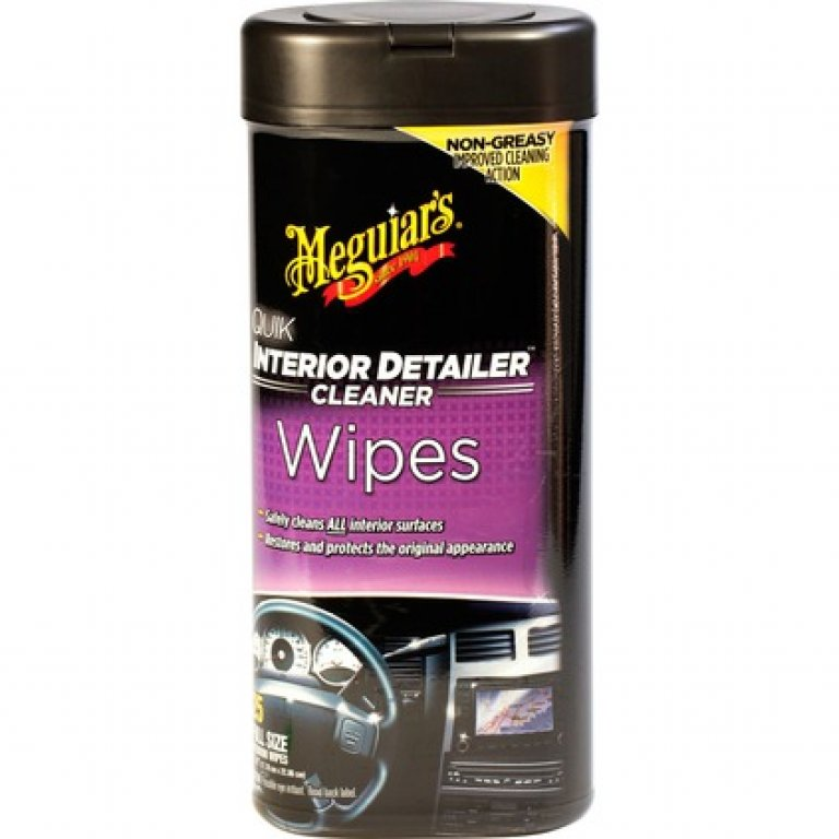 Meguiar's QUIK Interior Detailer Wipes - 25 PACK