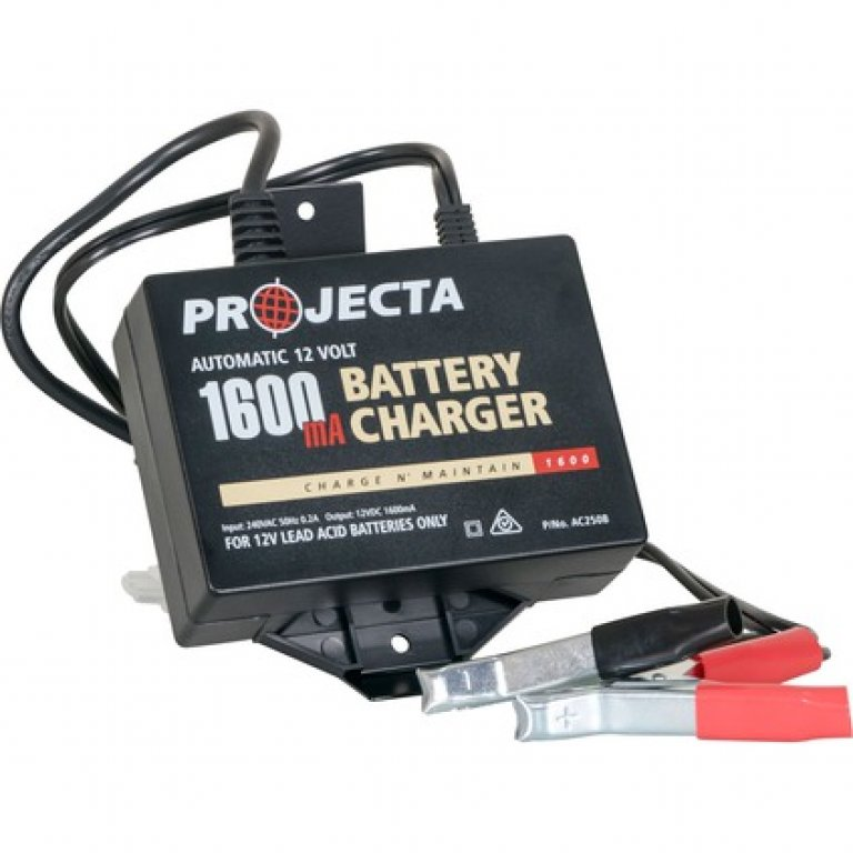 Projecta Battery Charger - 12 VOLT, 1600MA