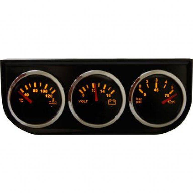 Street Series Gauge SET - 3 Piece
