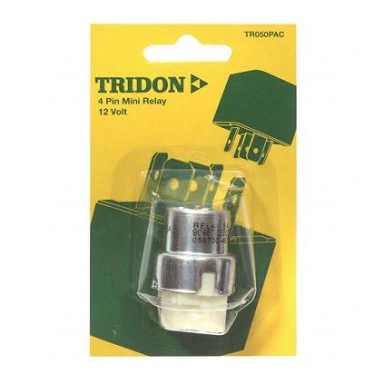 Tridon Mini Relay - 15 AMP, 4 PIN