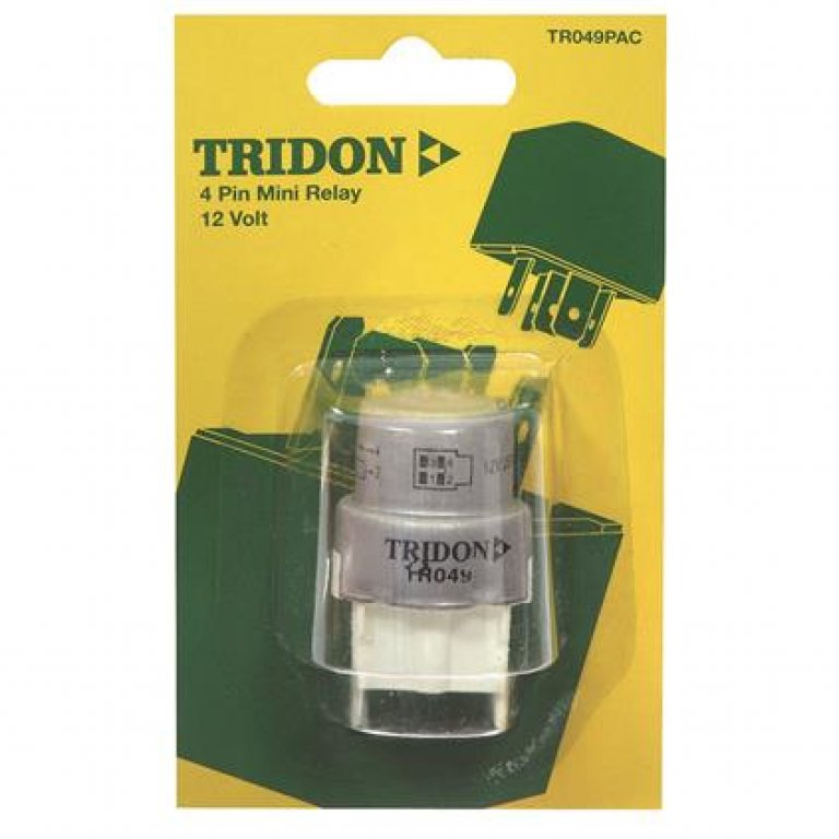 Tridon Mini Relay - 22 AMP, 4 PIN