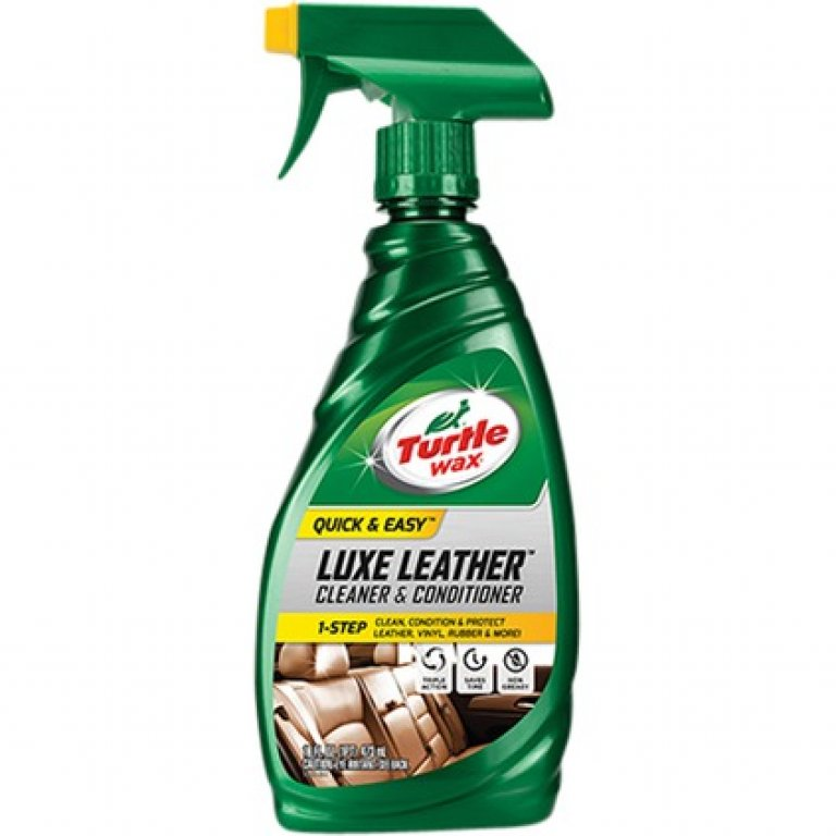 Turtle WAX LUXE Leather Cleaner and Conditioner - 473ML