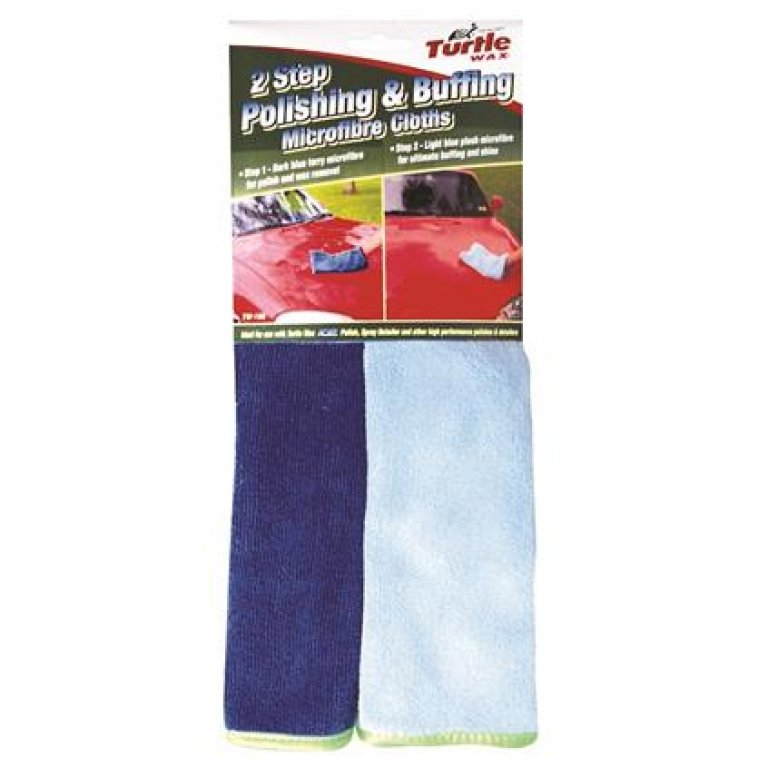 Turtle WAX Polishing and Buffing Towels - 2 PACK