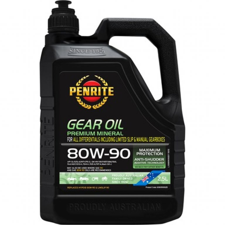 Penrite GEAR Oil - 80W-90,, 2.5 Litre