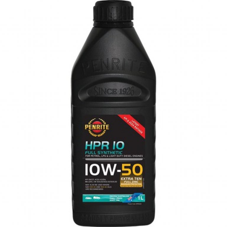 Penrite HPR 10 Engine Oil - 10W-50 1 Litre