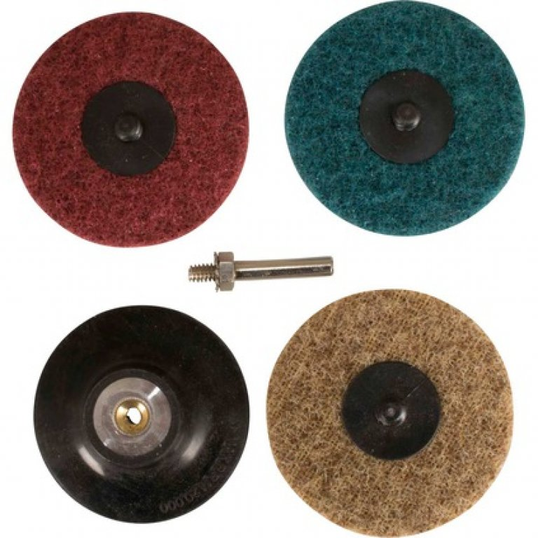Velocity Roloc Pad and Spindle Conditioning Discs - 75MM