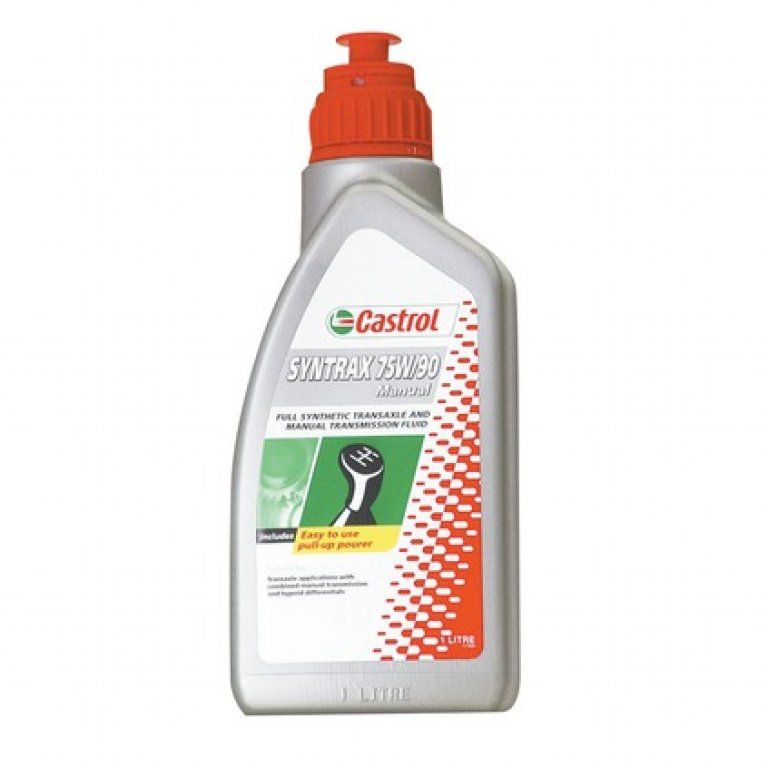 Castrol Syntrax Transaxle & Manual Transmission Fluid - 75W-90,, 1 LITR