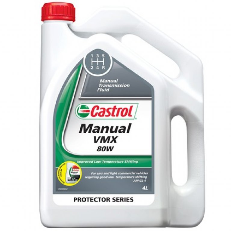 Castrol VMX 80 Transaxle & Manual Transmission Fluid - 4 Litre