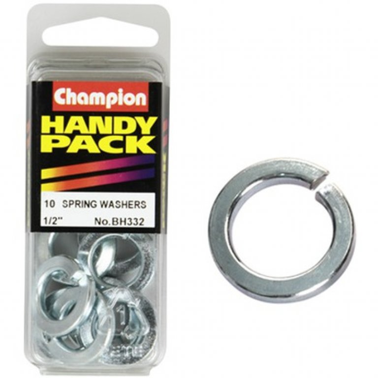 Champion Spring Washers - 1 / 2inch, BH332, Handy PACK