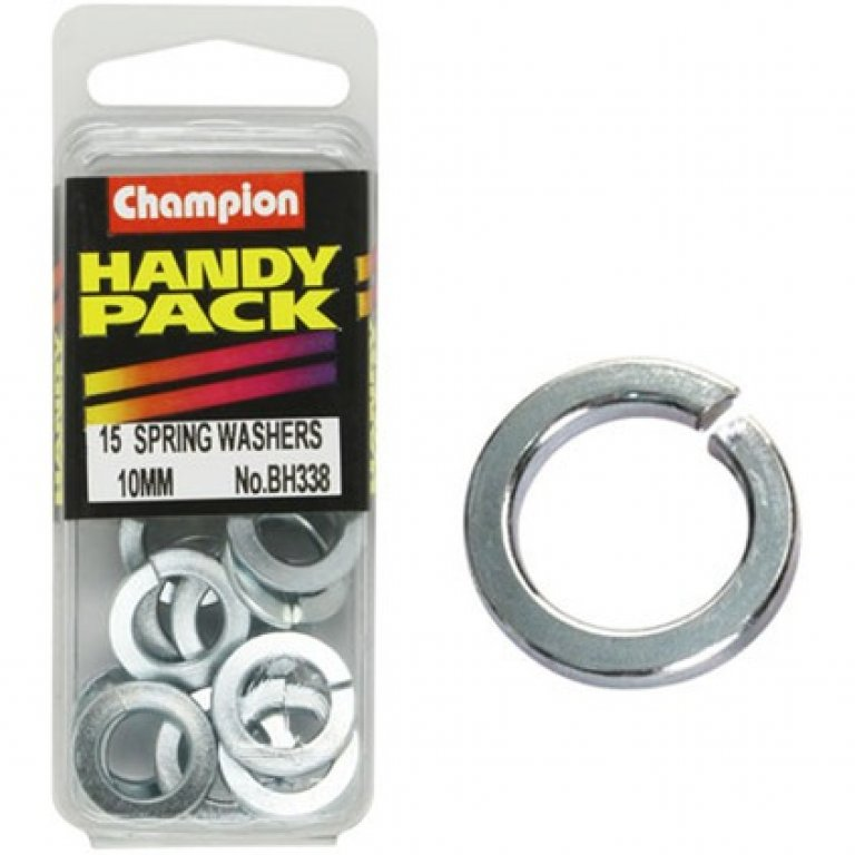 Champion Spring Washers - 10MM, BH338, Handy PACK