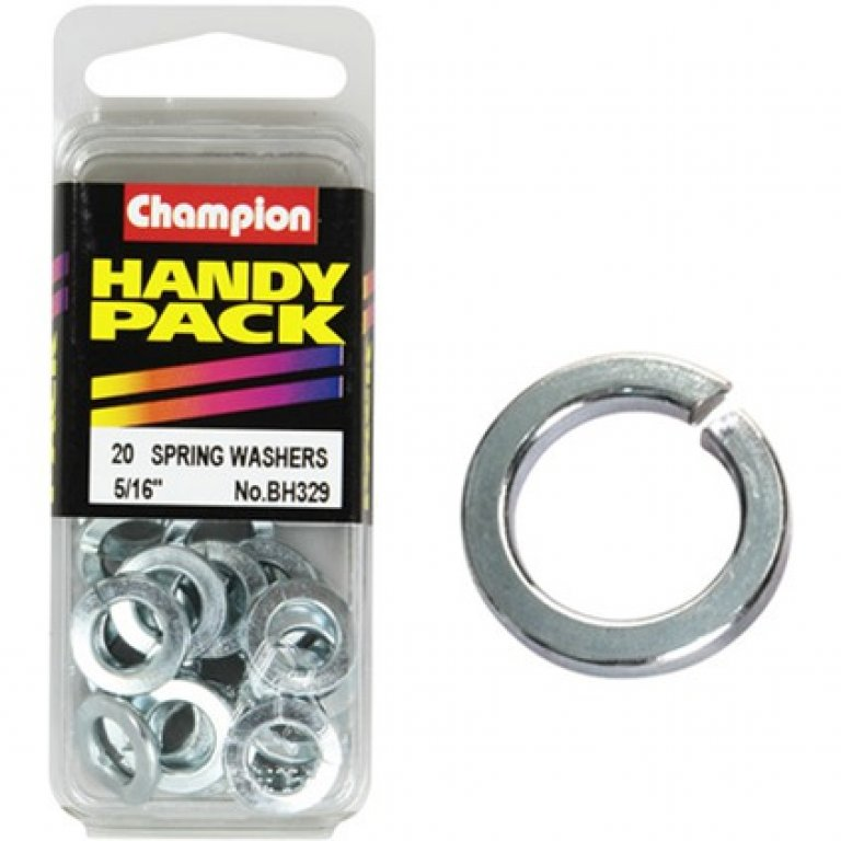 Champion Spring Washers - 5 / 16INCH, BH329, Handy PACK