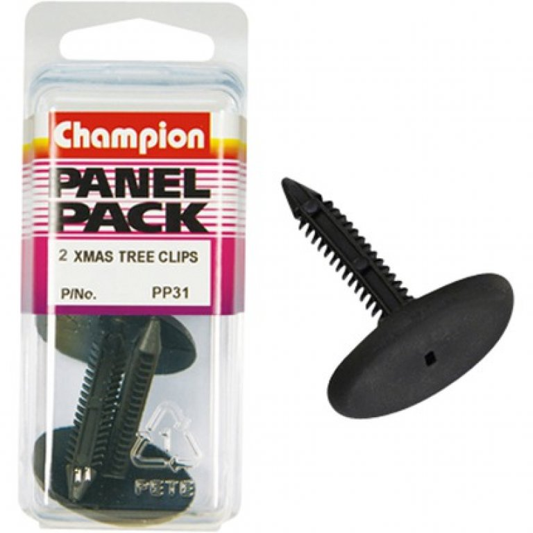 Champion Xmas TREE Clips - PP31, Panel PACK