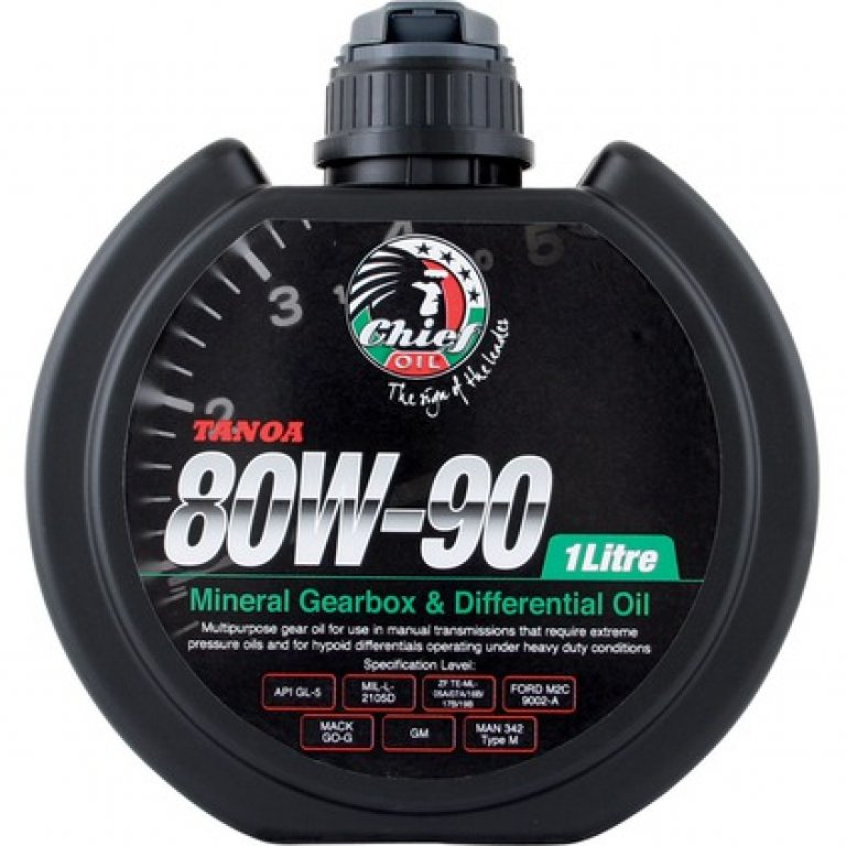 Chief Tanoa GEAR Oil - 80W-90,, 1 Litre