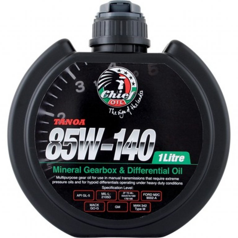 Chief Tanoa GEAR Oil - 85W-140,, 1 Litre