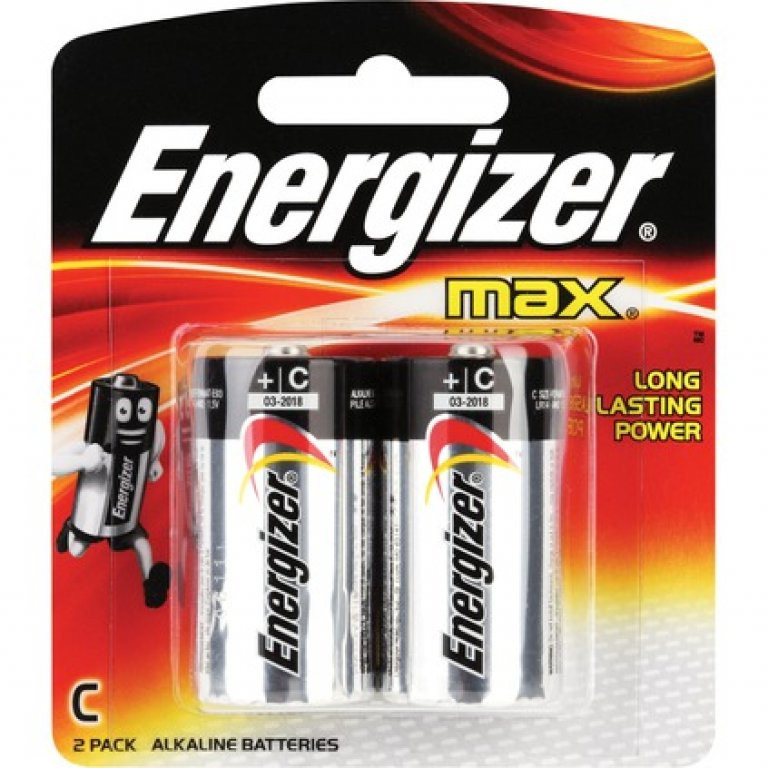 Energizer Max C Batteries - 2 PACK