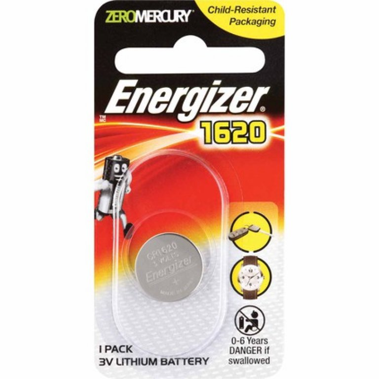 Energizer Specialty Lithium Battery - 1620, 1 PACK